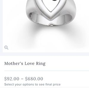James Avery Jewelry - James Avery mother's love ring.